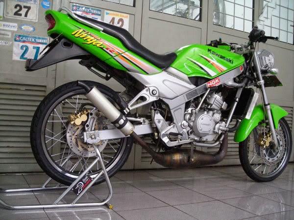 Variasi Motor Ninja 150 R terbaru