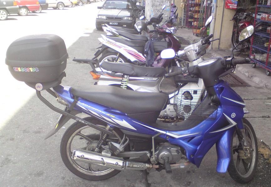 Motor yamaha jupiter z