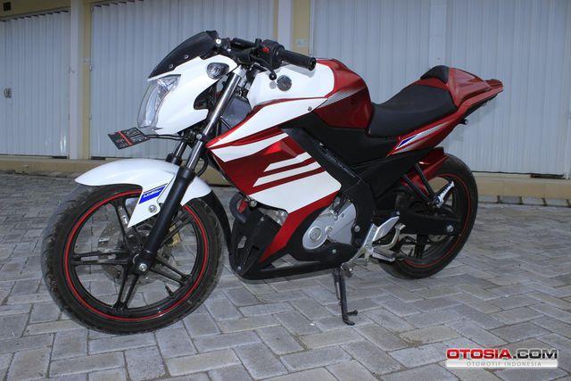 Foto dan gambar Modifikasi New Yamaha Vixion Lightning