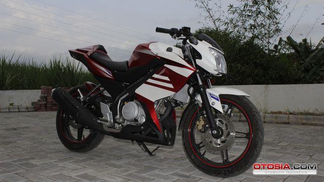 Modifikasi New Yamaha Vixion Lightning