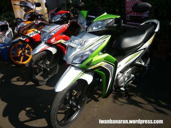 Motor Honda Blade 125