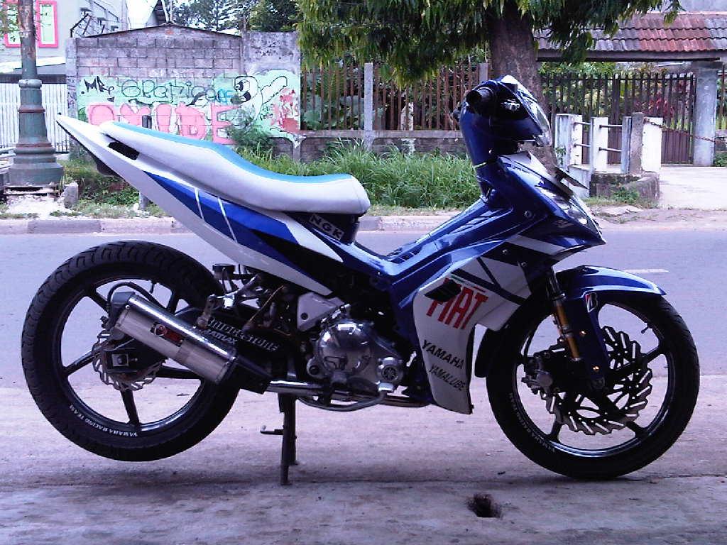 Modifikasi Motor Yamaha New Jupiter MX Terbaru Keren Spesifikasi