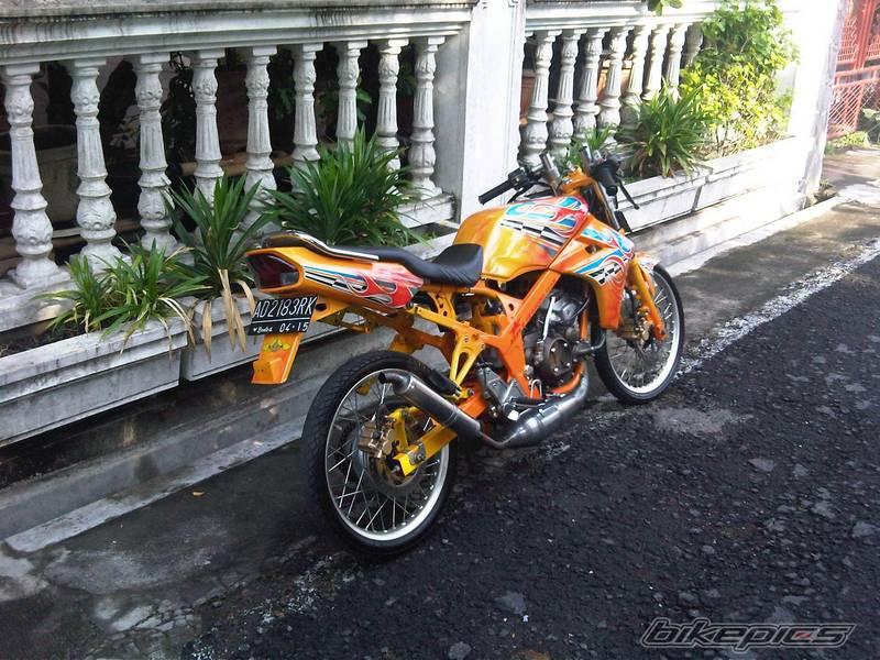 Modif Drag Bike  Keren